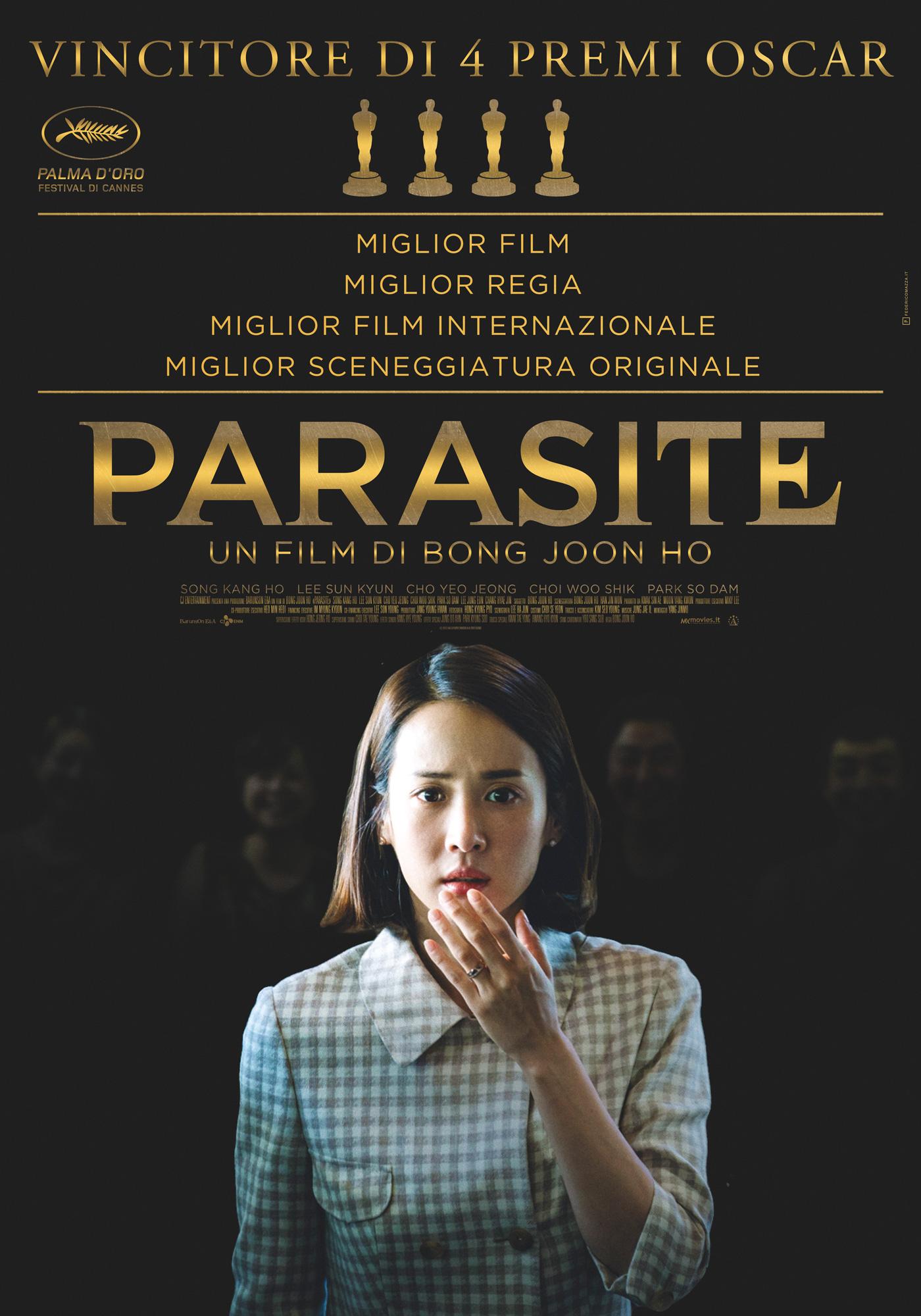 Straordinario «Parasite»: al film coreano gli Oscar più importanti