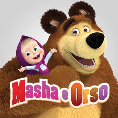 """""""Masha e Orso:Amici per Sempre"""""""
